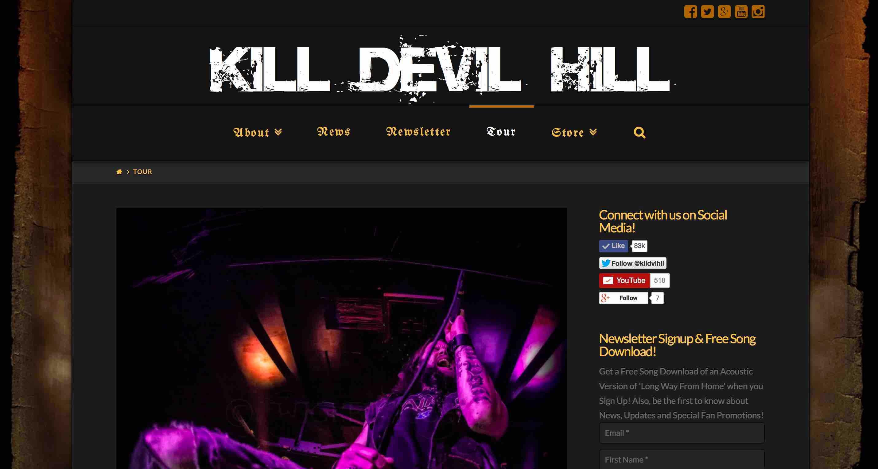 Kill Devil Hill Music